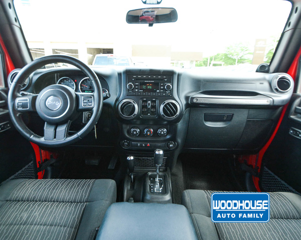 Pre-Owned 2012 Jeep WRANGLER-UNLIMITED Sport