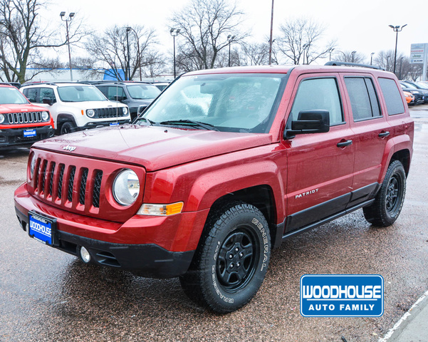 Jeep Certified Pre-Owned >> Certified Pre Owned 2016 Jeep Patriot Sport Suv In Sioux City