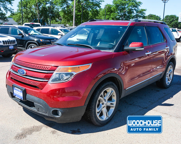 Pre-Owned 2015 Ford Explorer Limited