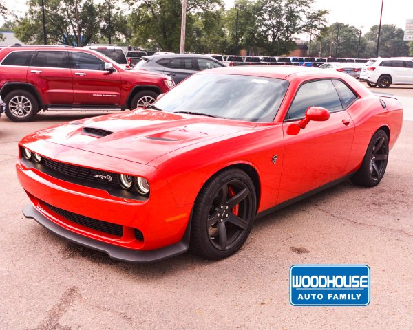 New 2018 DODGE Challenger SRT Hellcat