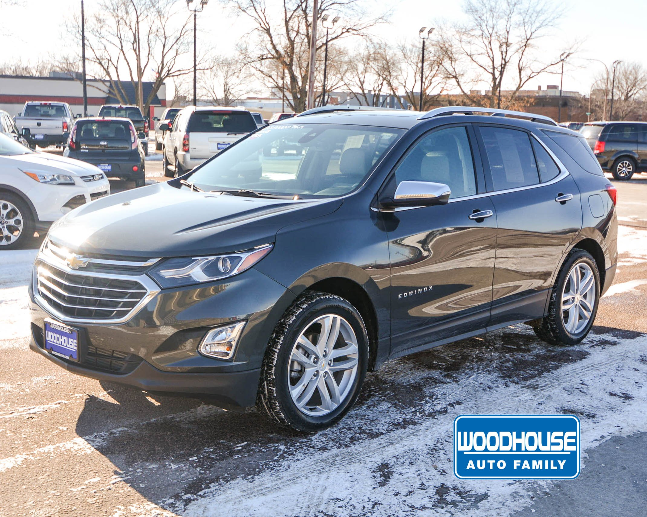 2018 Chevrolet Equinox Premier >> Pre Owned 2018 Chevrolet Equinox Premier Awd