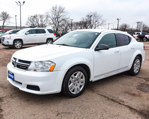 Pre-Owned 2013 Dodge Avenger SE FWD 4dr Car