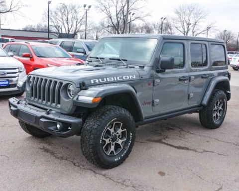 Certified Pre-Owned 2018 Jeep Wrangler Unlimited Rubicon With Navigation & 4WD