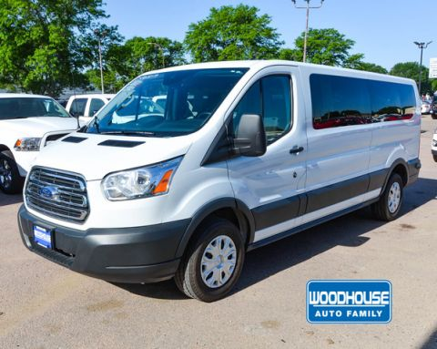 Pre-Owned 2017 Ford TRANSIT-350 Passenger Wagon Xlt Low