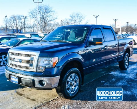 Pre-Owned 2013 Ford F-150 XLT SB 4x4