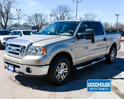 Pre-Owned 2008 Ford F-150 SCREW 4X4 Xlt Sb