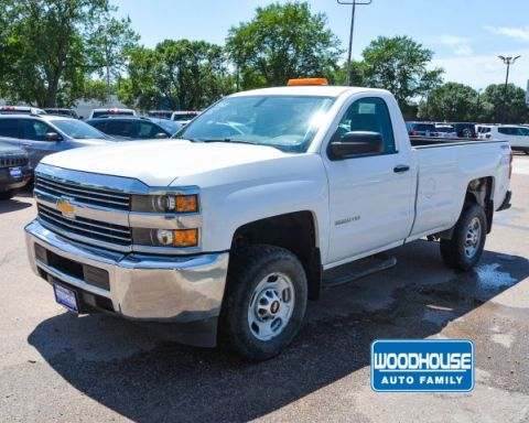Pre-Owned 2015 Chevrolet Silverado 2500HD Built After Aug 14 Work Truck