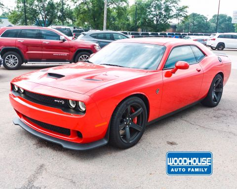 New 2018 DODGE Challenger SRT Hellcat With Navigation
