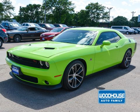 Certified Pre-Owned 2015 Dodge Challenger Rt Coupe