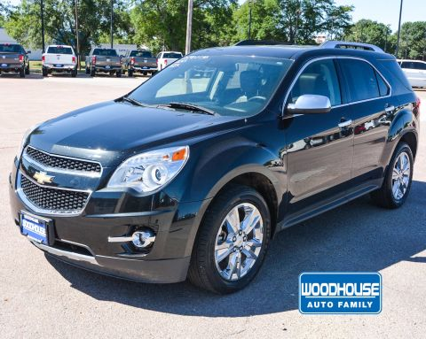 Pre-Owned 2015 Chevrolet Equinox LTZ With Navigation & AWD
